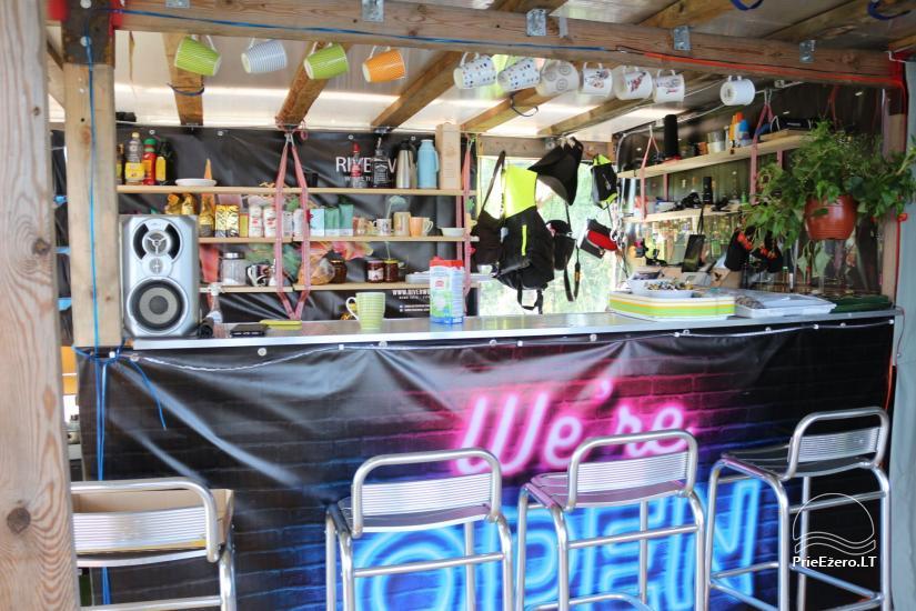Raft NEMO for rent on the lake Aviris: accommodation, catering, sauna, celebrations! - 18