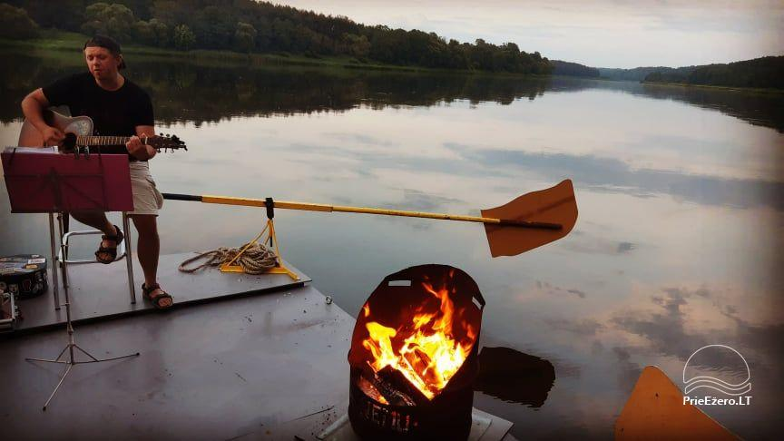 Raft NEMO for rent on the lake Aviris: accommodation, catering, sauna, celebrations! - 23