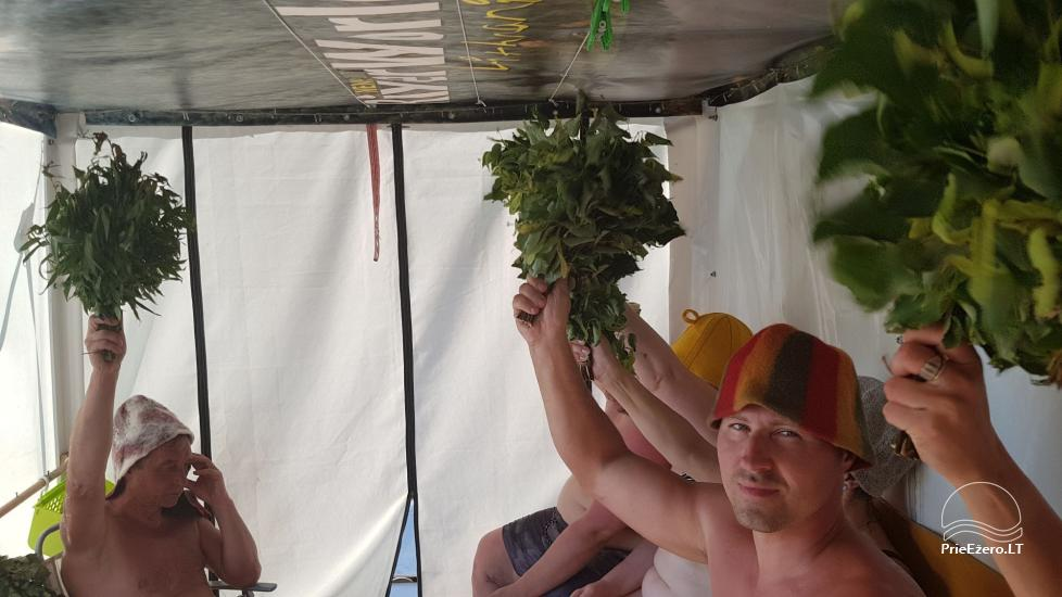 Raft NEMO for rent on the lake Aviris: accommodation, catering, sauna, celebrations! - 24