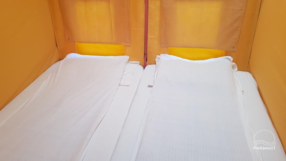 Raft NEMO for rent on the lake Aviris: accommodation, catering, sauna, celebrations! - 26