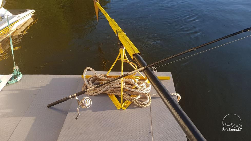 Raft NEMO for rent on the lake Aviris: accommodation, catering, sauna, celebrations! - 28