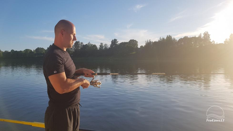 Raft NEMO for rent on the lake Aviris: accommodation, catering, sauna, celebrations! - 29