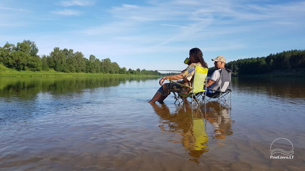 Raft NEMO for rent on the lake Aviris: accommodation, catering, sauna, celebrations! - 30