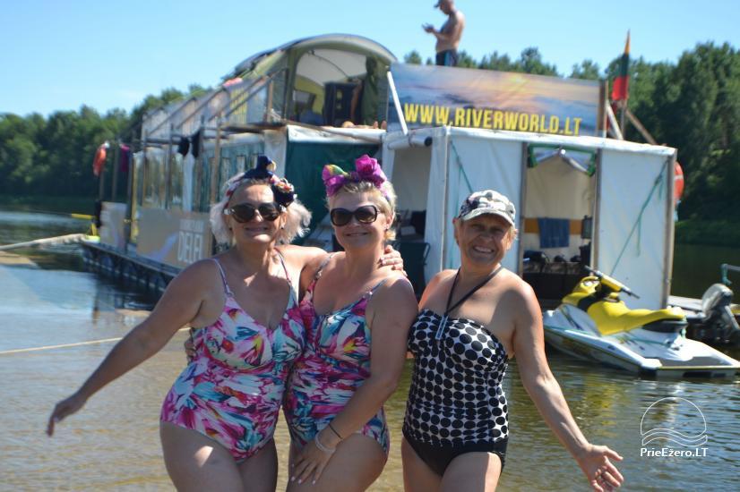 Raft NEMO for rent on the lake Aviris: accommodation, catering, sauna, celebrations! - 32