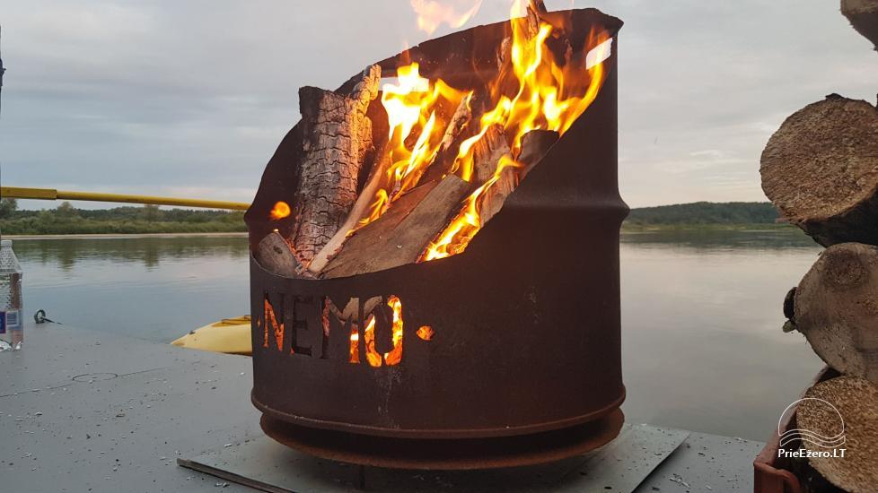 Raft NEMO for rent on the lake Aviris: accommodation, catering, sauna, celebrations! - 35