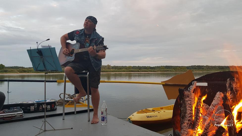 Raft NEMO for rent on the lake Aviris: accommodation, catering, sauna, celebrations! - 36