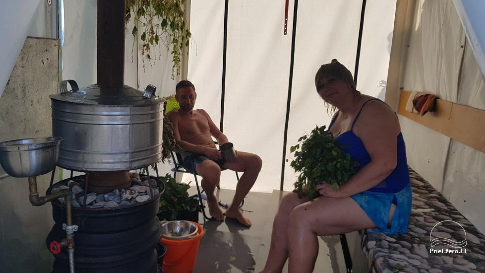 Raft NEMO for rent on the lake Aviris: accommodation, catering, sauna, celebrations! - 37