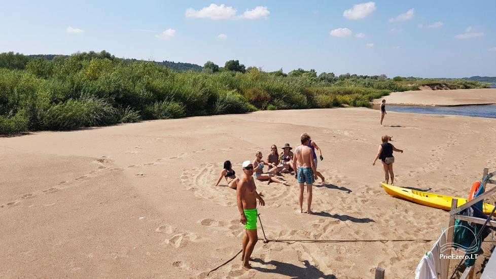 Raft NEMO for rent on the lake Aviris: accommodation, catering, sauna, celebrations! - 38