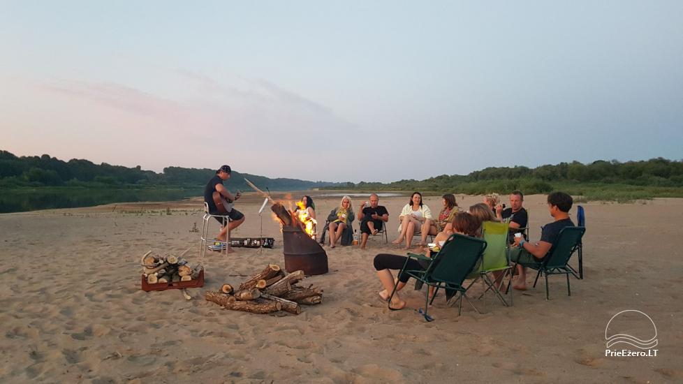 Raft NEMO for rent on the lake Aviris: accommodation, catering, sauna, celebrations! - 39