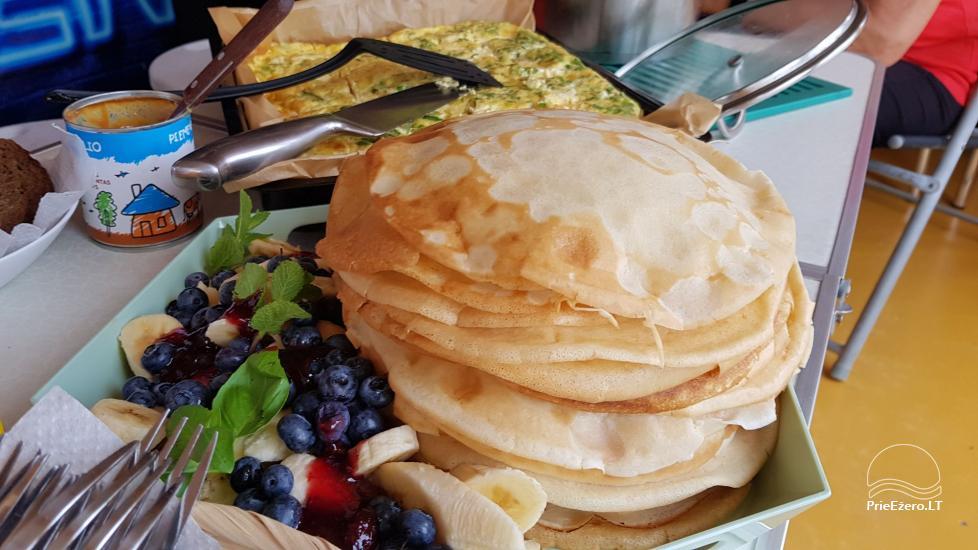 Raft NEMO for rent on the lake Aviris: accommodation, catering, sauna, celebrations! - 43