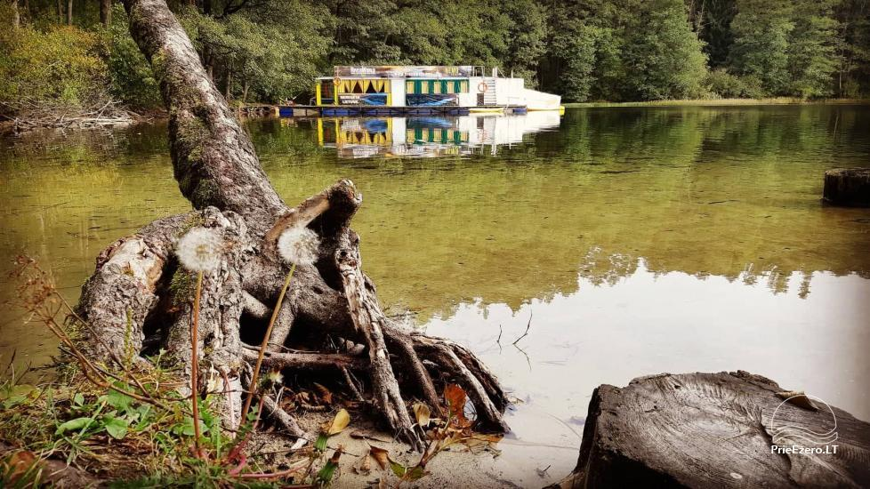 Raft NEMO for rent on the lake Aviris: accommodation, catering, sauna, celebrations! - 44