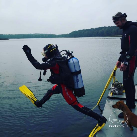 Raft NEMO for rent on the lake Aviris: accommodation, catering, sauna, celebrations! - 45