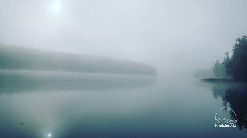 Raft NEMO for rent on the lake Aviris: accommodation, catering, sauna, celebrations! - 46