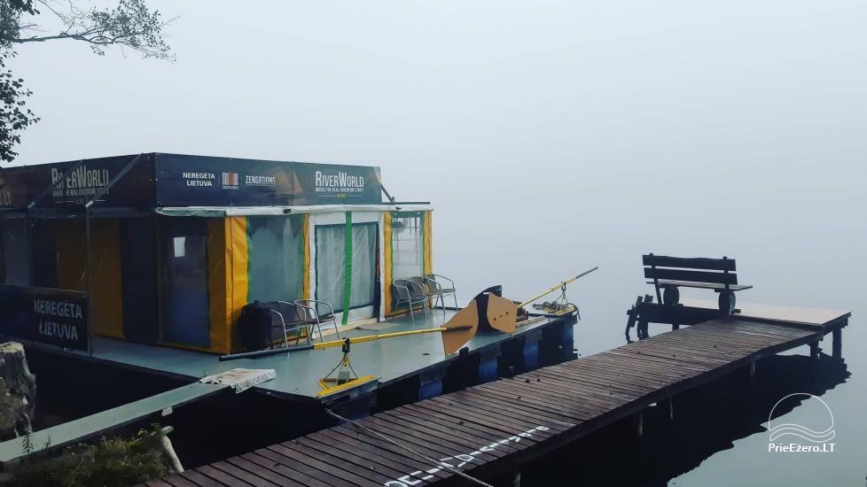 Raft NEMO for rent on the lake Aviris: accommodation, catering, sauna, celebrations! - 47