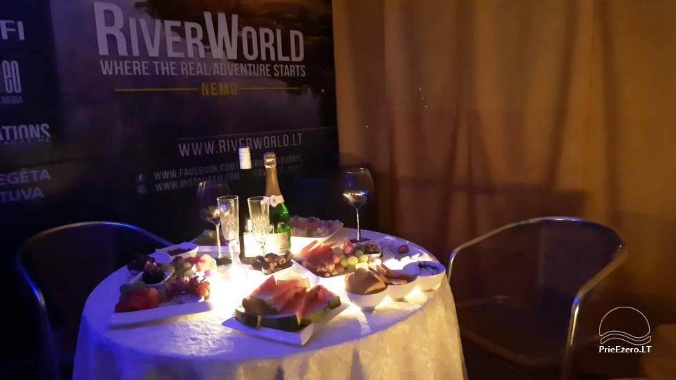 Raft NEMO for rent on the lake Aviris: accommodation, catering, sauna, celebrations! - 50