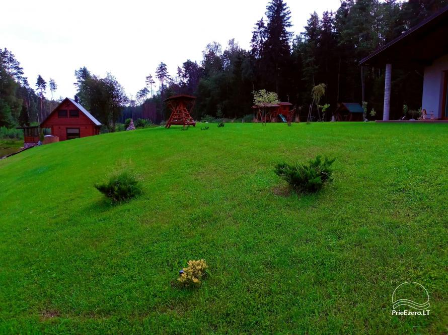 Sauna house near Druskininkai At Marius'  - 25