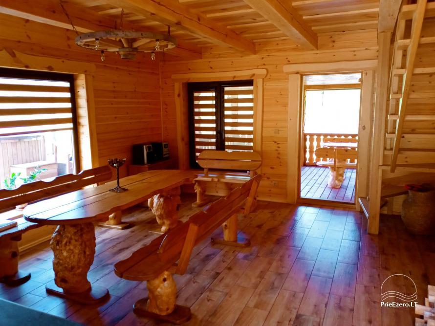 Sauna house near Druskininkai At Marius'  - 6