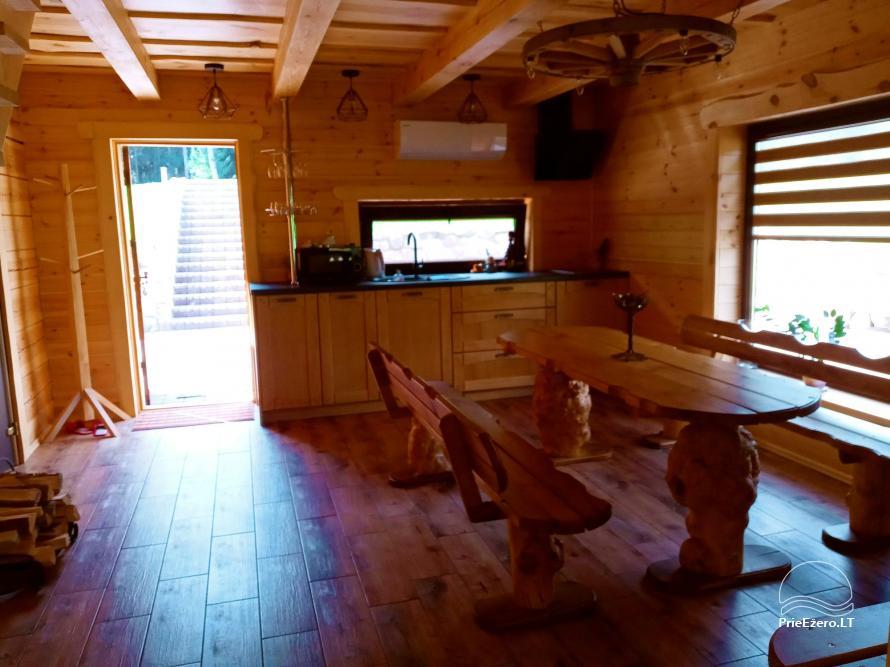 Sauna house near Druskininkai At Marius'  - 12