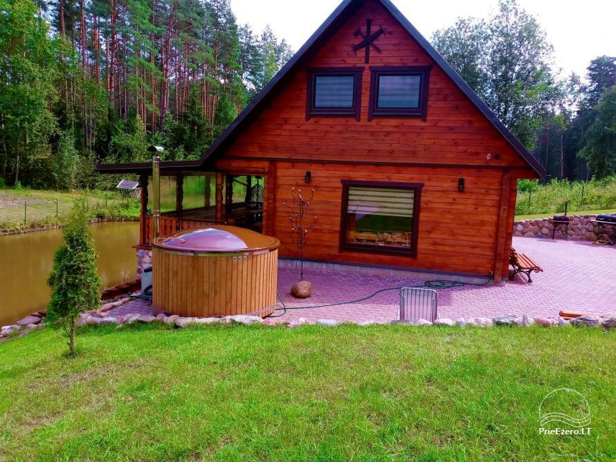 Sauna house near Druskininkai At Marius'  - 4