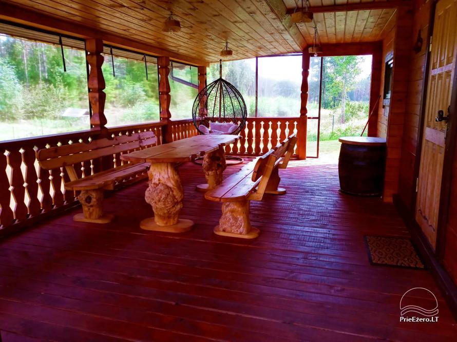 Sauna house near Druskininkai At Marius'  - 26