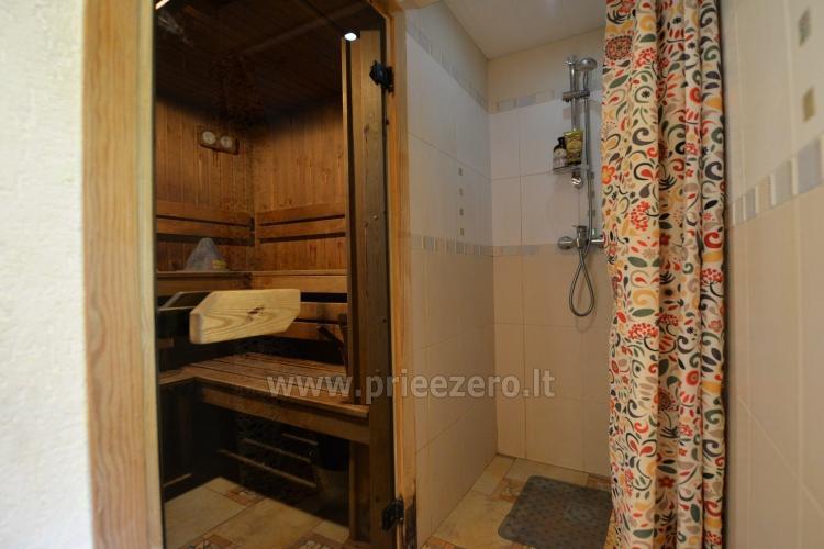 Honey bathhouse in Trakai at the lake Skasitis - 17