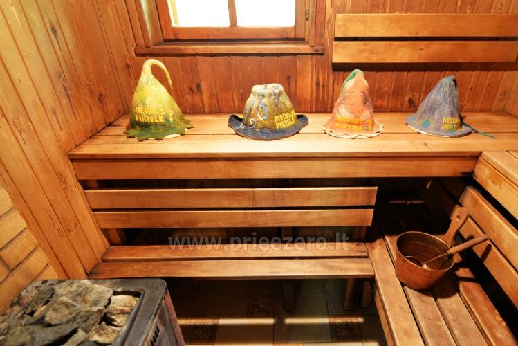 Honey bathhouse in Trakai at the lake Skasitis - 18