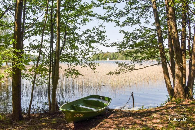 Honey bathhouse in Trakai at the lake Skasitis - 31