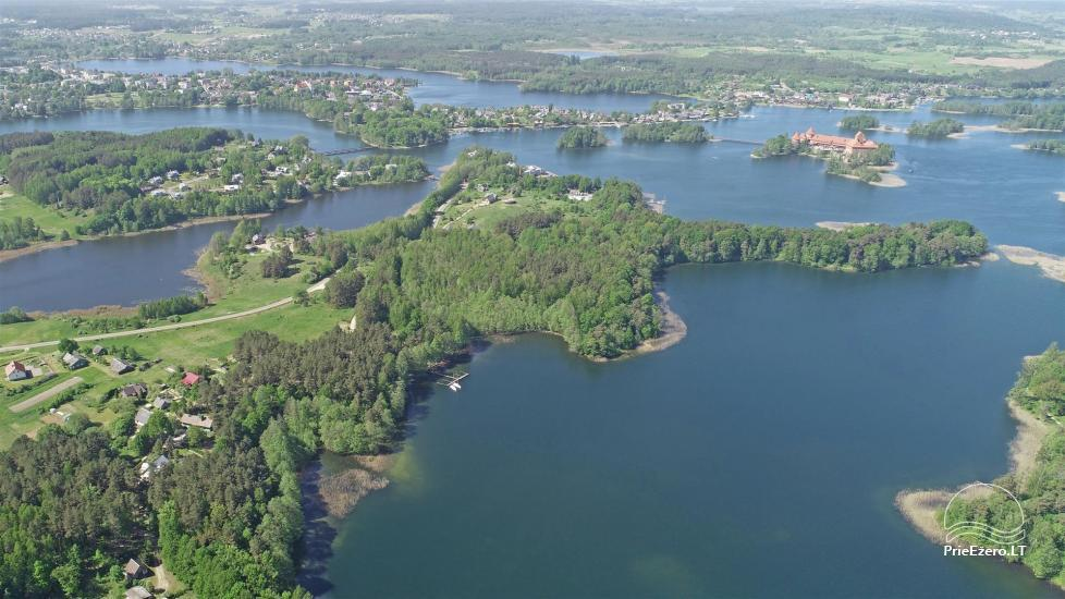Honey bathhouse in Trakai at the lake Skasitis - 42