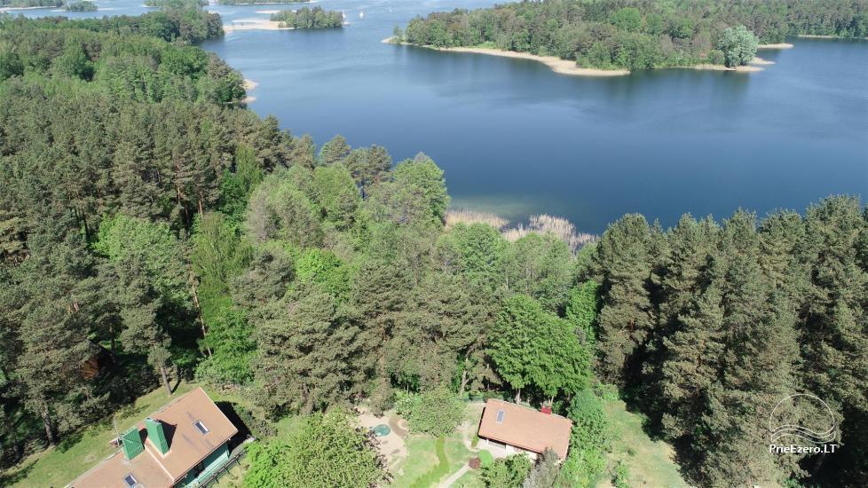 Honey bathhouse in Trakai at the lake Skasitis - 43