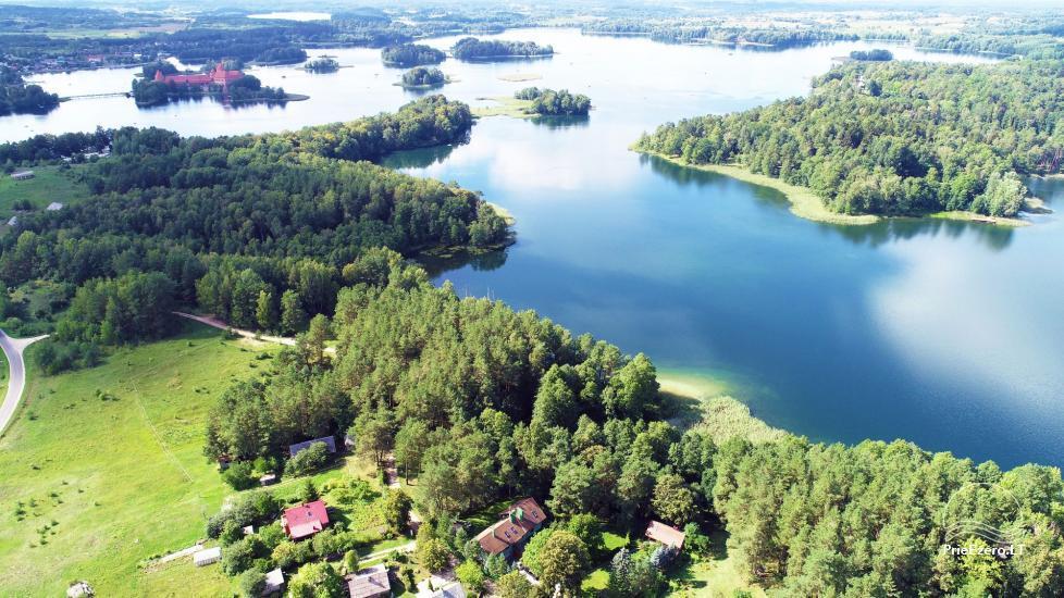 Honey bathhouse in Trakai at the lake Skasitis - 41