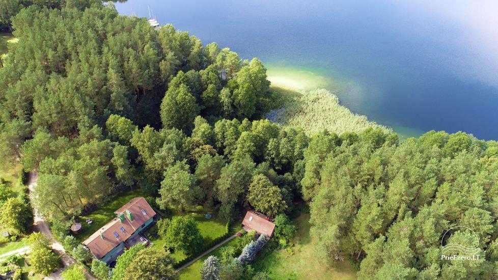 Honey bathhouse in Trakai at the lake Skasitis - 38