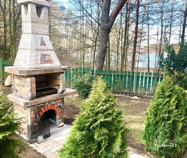 Honey bathhouse in Trakai at the lake Skasitis - 11
