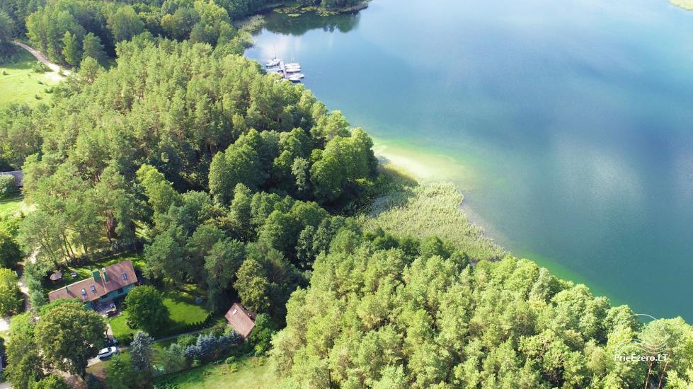 Honey bathhouse in Trakai at the lake Skasitis - 39