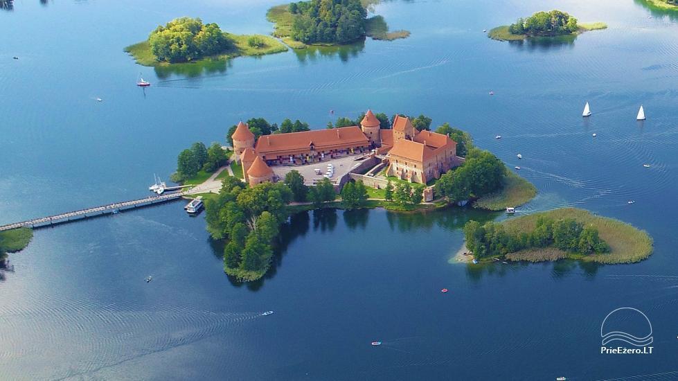 Honey bathhouse in Trakai at the lake Skasitis - 52