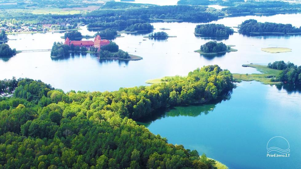 Honey bathhouse in Trakai at the lake Skasitis - 53