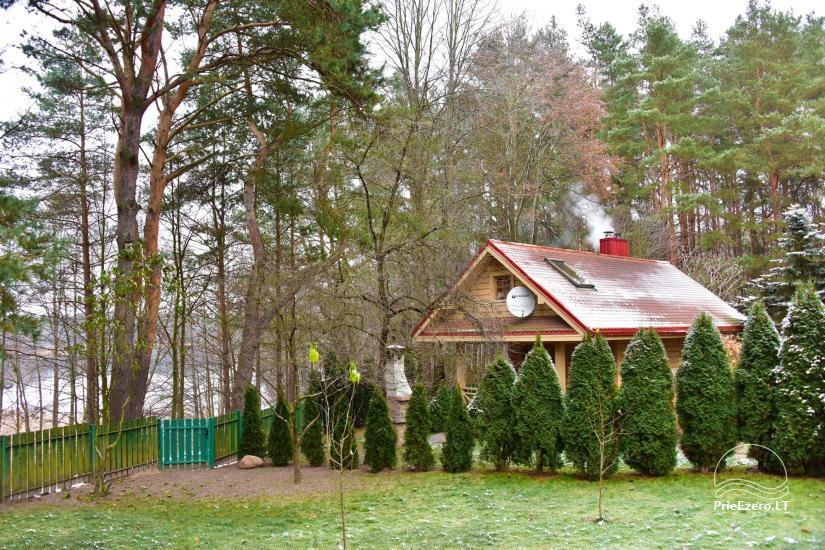Honey bathhouse in Trakai at the lake Skasitis - 10