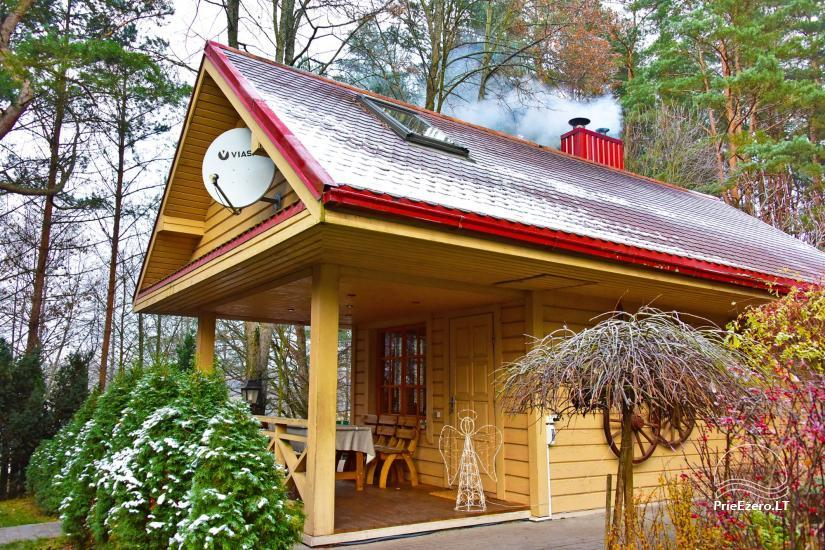 Honey bathhouse in Trakai at the lake Skasitis - 22