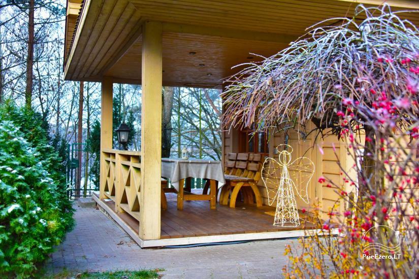 Honey bathhouse in Trakai at the lake Skasitis - 23