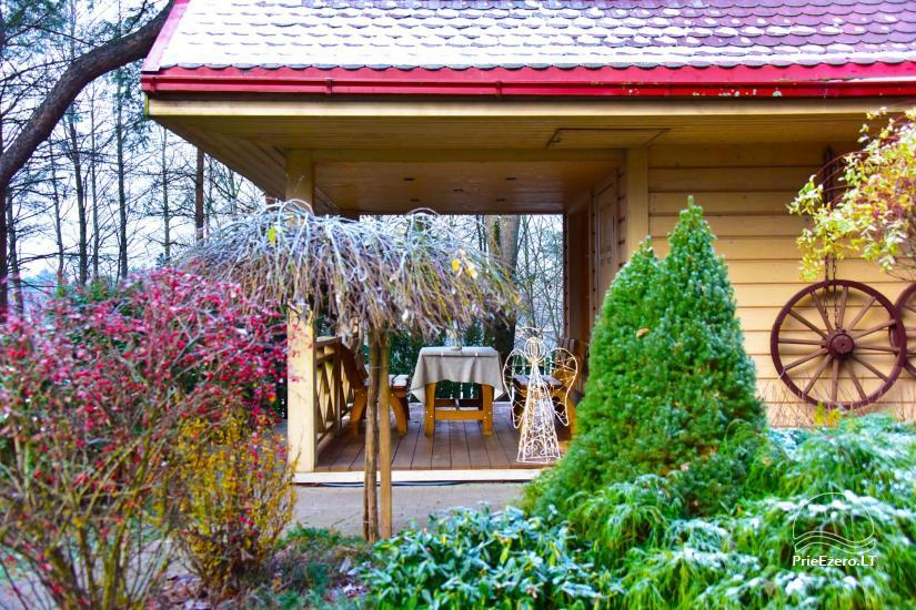 Honey bathhouse in Trakai at the lake Skasitis - 24