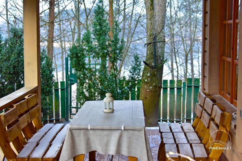 Honey bathhouse in Trakai at the lake Skasitis - 25