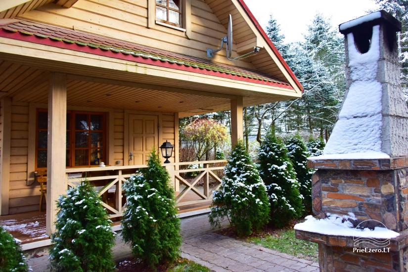Honey bathhouse in Trakai at the lake Skasitis - 26
