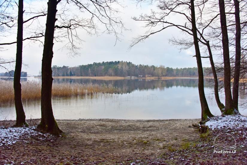 Honey bathhouse in Trakai at the lake Skasitis - 29