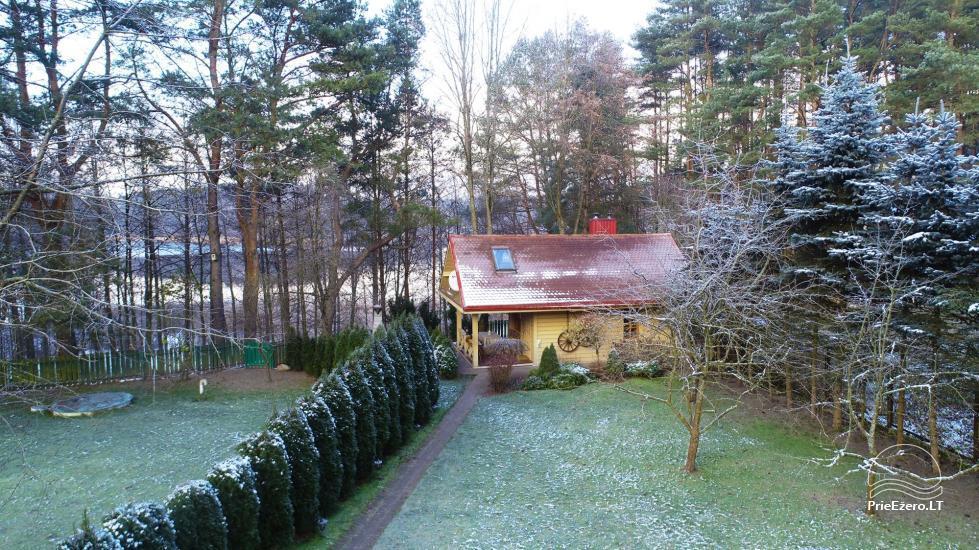 Honey bathhouse in Trakai at the lake Skasitis - 36