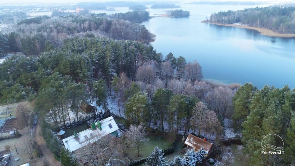 Honey bathhouse in Trakai at the lake Skasitis - 50