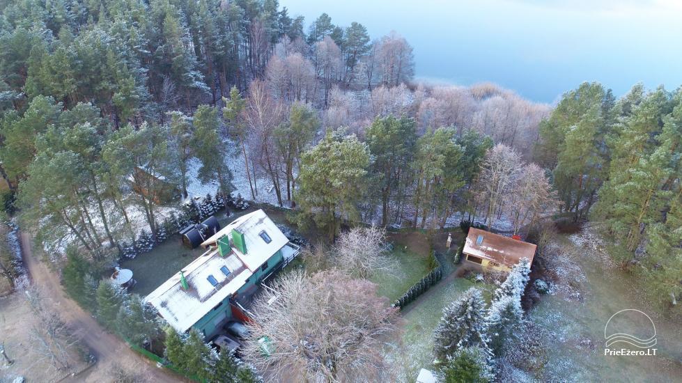 Honey bathhouse in Trakai at the lake Skasitis - 49