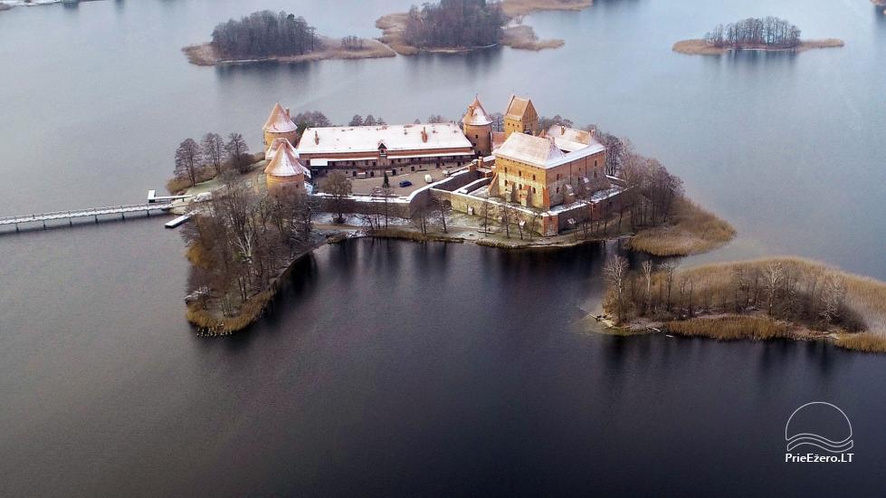 Honey bathhouse in Trakai at the lake Skasitis - 55
