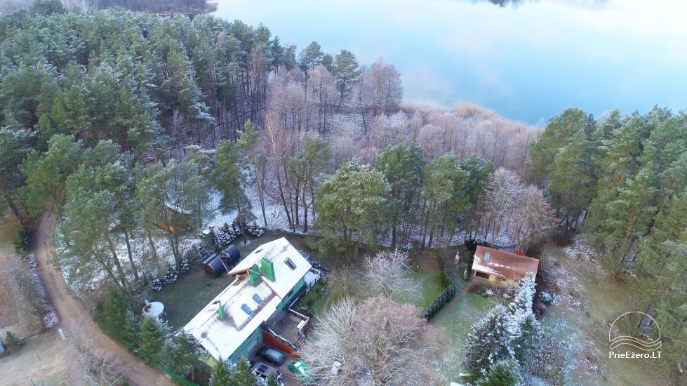Honey bathhouse in Trakai at the lake Skasitis - 48