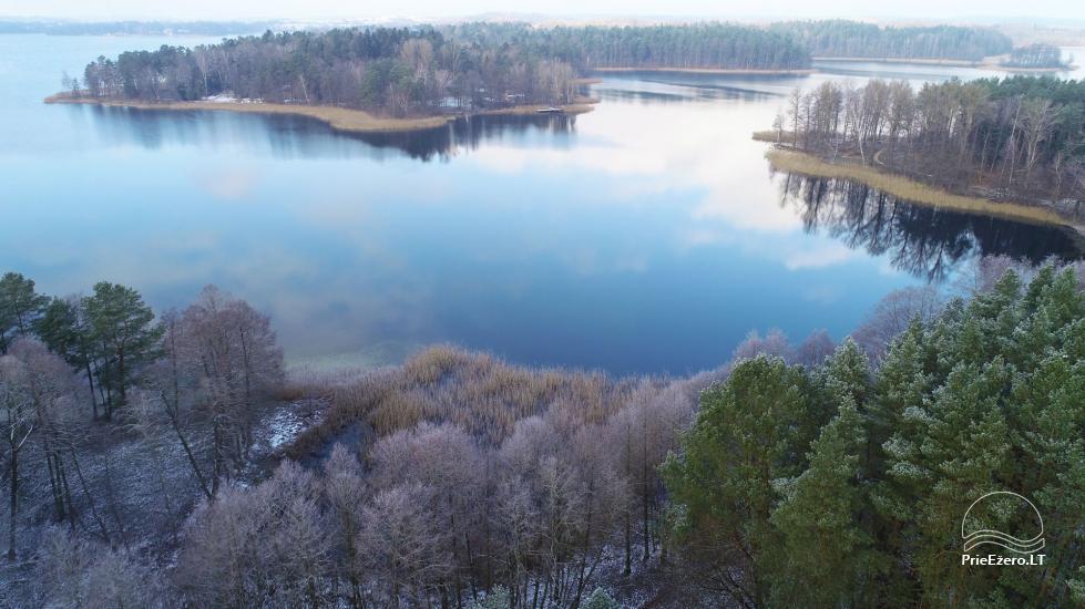 Honey bathhouse in Trakai at the lake Skasitis - 54
