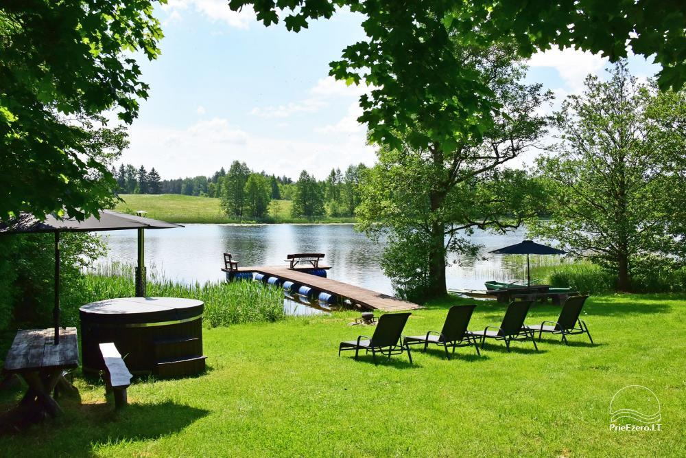 4 bed cottages with full amenities on the lake shore near Plateliai Mint4Rest - 7