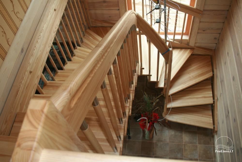 Homestead for rent in Trakai region near the lake Juodis - 6
